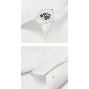 ガブリエレ パジーニ / G.Pasini / コットンブロード ( スカルピン付き ) ピンホール シャツ|luccicare|07