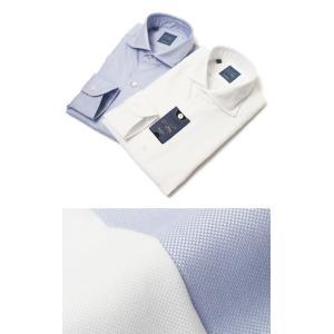 バルバ / BARBA / DANDY LIFE / NEW BRUNO / コットン オックス カッタウェイ シャツ|luccicare