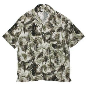 バグッタ / BAGUTTA / ヴィスコース ボタニカル柄 オープンカラー 半袖 開襟シャツ / セール / 返品・交換不可|luccicare