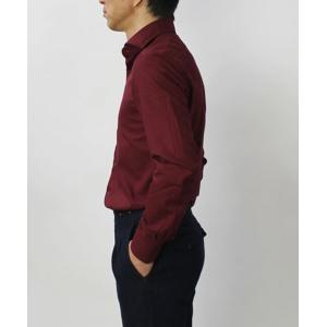 バグッタ / BAGUTTA / MILANOモデル / Albini社 コットン スーパーソフト ライトフランネル セミワイドカラー シャツ|luccicare|04