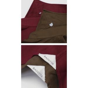 バグッタ / BAGUTTA / MILANOモデル / Albini社 コットン スーパーソフト ライトフランネル セミワイドカラー シャツ|luccicare|07