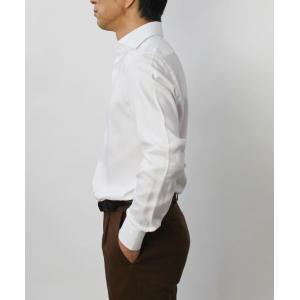 バグッタ / BAGUTTA / MILANOモデル / Albini社×テンセル オックスフォード セミワイドカラー シャツ|luccicare|03