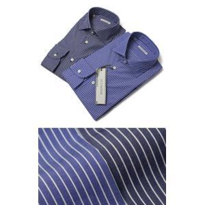 ギローバー / GUY ROVER / V2530/582202 / コットン ストライプ セミワイド ドレス シャツ / セール / 返品・交換不可|luccicare