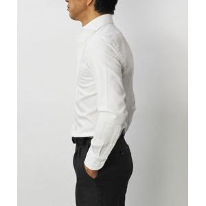 【国内正規品】新作 GIANNETTO ( ジャンネット ) / コットン オックス メッシュ セミワイドカラー シャツ|luccicare|03