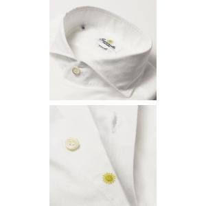 【国内正規品】新作 GIANNETTO ( ジャンネット ) / コットン オックス メッシュ セミワイドカラー シャツ|luccicare|05