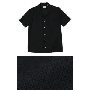 ジャンネット / GIANNETTO / コットン メッシュ オープンカラー 半袖 開襟シャツ / 返品・交換可能|luccicare