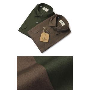 ジャンネット / GIANNETTO / 9G112ALP65 / コットン ミリタリー シャツ|luccicare