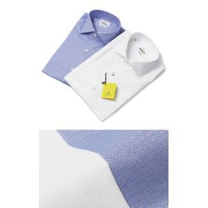 ジャンネット / GIANNETTO / コットン オックス セミワイドカラー シャツ / セール / 返品・交換不可|luccicare