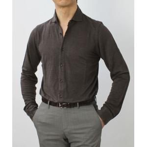 ジョルディーズ / JEORDIE'S / リネン ジャージー セミワイドカラー シャツ / セール / 返品・交換不可|luccicare|03