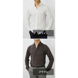 ジョルディーズ / JEORDIE'S / リネン ジャージー セミワイドカラー シャツ / セール / 返品・交換不可|luccicare|09