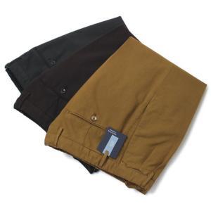 インコテックス / INCOTEX / 12型 / SLIM FIT / HIGH COMFORT / コットン ストレッチ ツープリーツ パンツ|luccicare