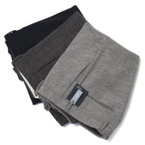 インコテックス / INCOTEX / 30型 / SLIM FIT / Wool&Cotton Jersey Flannel / ウール コットン ジャージー パンツ|luccicare