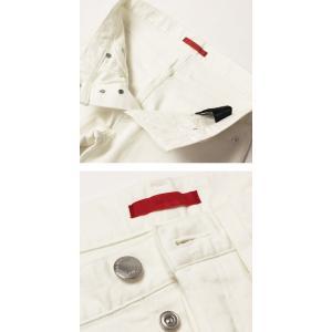 レッドカード / RED CARD / Rhythm / Slim Tapered / ストレッチ ホワイト デニム パンツ / 返品・交換可能|luccicare|06
