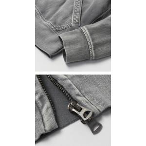 ヤヌーク / YANUK / HOODIE / 一重織り デニット フーデット パーカー|luccicare|06