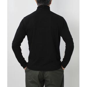 オリジナル ヴィンテージ スタイル / ORIGINAL VINTAGE STYLE / コットン ジャージー ハイネック ロングスリーブ Tシャツ|luccicare|05