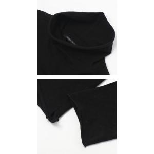 オリジナル ヴィンテージ スタイル / ORIGINAL VINTAGE STYLE / コットン ジャージー ハイネック ロングスリーブ Tシャツ|luccicare|06