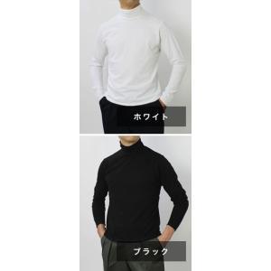 オリジナル ヴィンテージ スタイル / ORIGINAL VINTAGE STYLE / コットン ジャージー ハイネック ロングスリーブ Tシャツ|luccicare|08