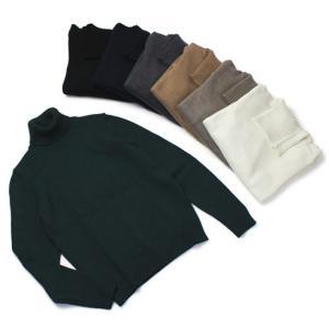 ザノーネ /  ZANONE / ウール ミドルゲージ (5G) ニット タートルネック セーター|luccicare