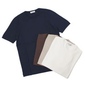 グランサッソ / GRANSASSO / 12G ソフトコットン クルーネック ニット / セール / 返品・交換不可 Tシャツ / セール / 返品・交換不可|luccicare