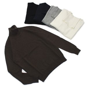 ワンズ / ONES / Loro piana / カシミヤ100% ハイゲージ タートルネック セーター|luccicare