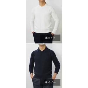 クルチアーニ / Cruciani / コットン ミドルゲージ 襟付き ニット / セール / 返品・交換不可|luccicare|08