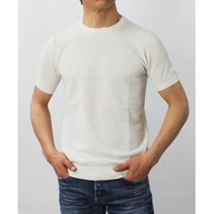 ジョルディーズ / JEORDIE'S / コットン アイスクレープ クルーネック 半袖 ニット Tシャツ / 返品・交換可能|luccicare|02
