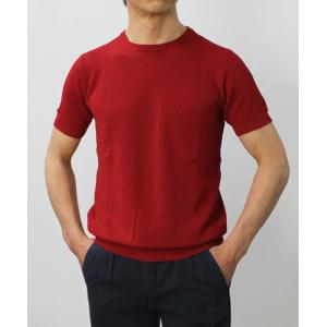 ジョルディーズ / JEORDIE'S / コットン アイスクレープ クルーネック 半袖 ニット Tシャツ / 返品・交換可能|luccicare|03