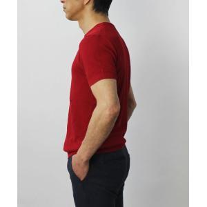 ジョルディーズ / JEORDIE'S / コットン アイスクレープ クルーネック 半袖 ニット Tシャツ / 返品・交換可能|luccicare|04