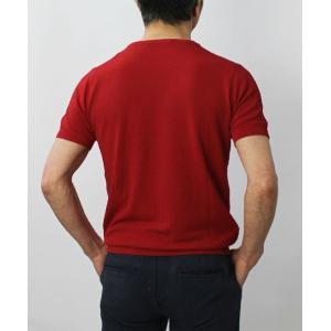 ジョルディーズ / JEORDIE'S / コットン アイスクレープ クルーネック 半袖 ニット Tシャツ / 返品・交換可能|luccicare|05