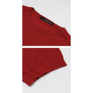 ジョルディーズ / JEORDIE'S / コットン アイスクレープ クルーネック 半袖 ニット Tシャツ / 返品・交換可能|luccicare|06