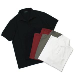 ザノーネ / ZANONE / アイスコットン 半袖 スキッパー ポロシャツ / セール / 返品・交換不可|luccicare