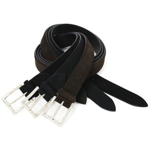 新作 luccicare original BELT / スエード カーフレザー ベルト / 返品・交換可能|luccicare