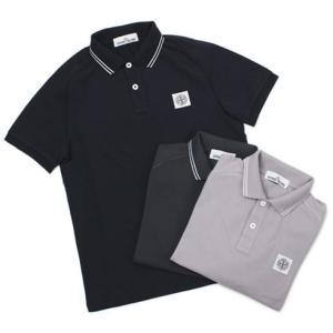 ストーン アイランド / STONE ISLAND / コットン 鹿の子 半袖 ポロシャツ|luccicare