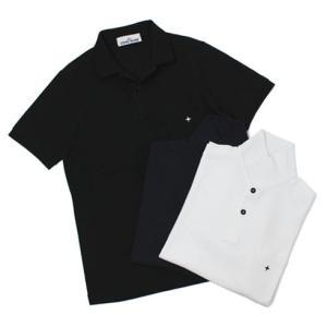 ストーン アイランド / STONE ISLAND / コットンドライ 鹿の子 半袖 ポロシャツ|luccicare
