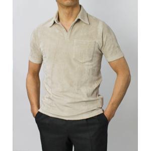 ラルディーニ / LARDINI / コットン パイル スキッパー ポロシャツ / セール / 返品・交換不可|luccicare|03