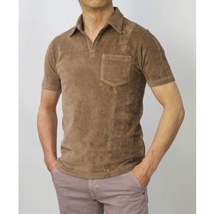 ラルディーニ / LARDINI / コットン パイル スキッパー ポロシャツ / セール / 返品・交換不可|luccicare|04