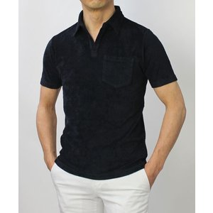 ラルディーニ / LARDINI / コットン パイル スキッパー ポロシャツ / セール / 返品・交換不可|luccicare|05