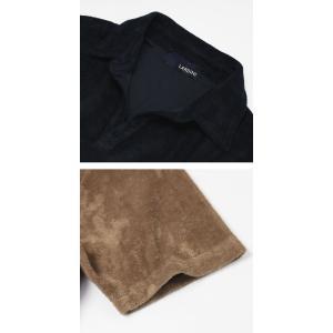 ラルディーニ / LARDINI / コットン パイル スキッパー ポロシャツ / セール / 返品・交換不可|luccicare|08