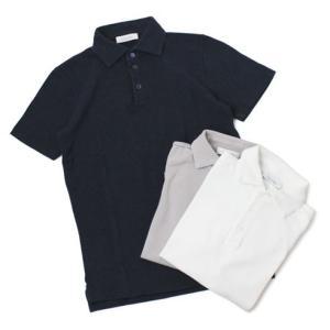 クルチアーニ / Cruciani / コットン 鹿の子 半袖 ポロシャツ / セール / 返品・交換不可|luccicare