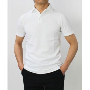 クルチアーニ / Cruciani / コットン 鹿の子 半袖 ポロシャツ / セール / 返品・交換不可|luccicare|02