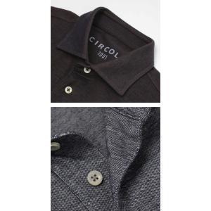 チルコロ 1901 / CIRCOLO 1901 / コットン 先染めジャージィ 半袖 ポロシャツ luccicare 06