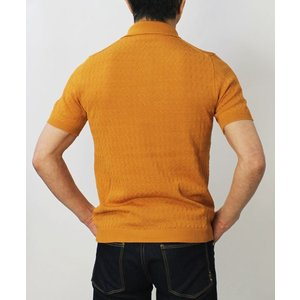 チルコロ 1901 / CIRCOLO 1901 / コットン ジャカードニット 半袖 ポロシャツ / セール / 返品・交換不可 luccicare 07