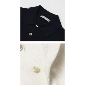 チルコロ 1901 / CIRCOLO 1901 / コットン ジャカードニット 半袖 ポロシャツ / セール / 返品・交換不可 luccicare 08