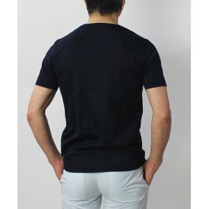 グランサッソ / GRANSASSO / マーセライズ コットン シルケット加工 Vネック Tシャツ / セール / 返品・交換不可|luccicare|06