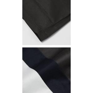 グランサッソ / GRANSASSO / マーセライズ コットン シルケット加工 Vネック Tシャツ / セール / 返品・交換不可|luccicare|08