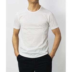 グランサッソ / GRANSASSO / マーセライズ コットン シルケット加工 クルーネック Tシャツ / セール / 返品・交換不可|luccicare|02