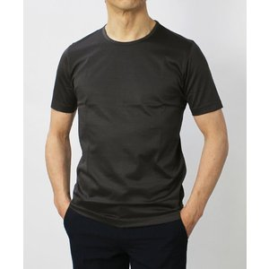 グランサッソ / GRANSASSO / マーセライズ コットン シルケット加工 クルーネック Tシャツ / セール / 返品・交換不可|luccicare|03