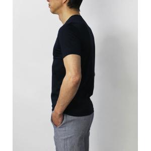 グランサッソ / GRANSASSO / マーセライズ コットン シルケット加工 クルーネック Tシャツ / セール / 返品・交換不可|luccicare|05