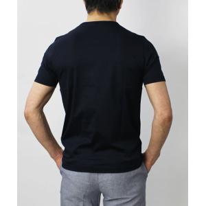 グランサッソ / GRANSASSO / マーセライズ コットン シルケット加工 クルーネック Tシャツ / セール / 返品・交換不可|luccicare|06