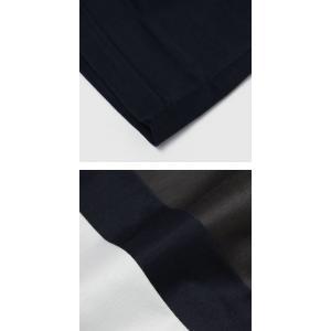 グランサッソ / GRANSASSO / マーセライズ コットン シルケット加工 クルーネック Tシャツ / セール / 返品・交換不可|luccicare|08